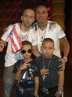 Los pequeños viajaron desde Puerto Rico para estar al lado de sus ídolos.