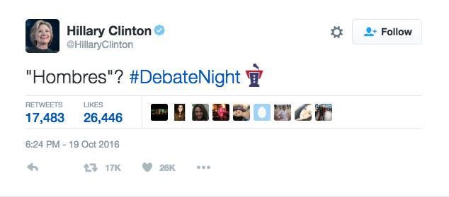 Hasta Hillary Clinton, que debería estar acostumbrada, se ha quedado de...