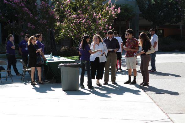 La universidad de Sacramento fue el escenario de ¨Es el momento¨