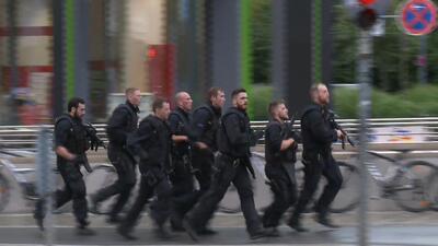Imágenes de la persecución a los autores del tiroteo en Münich