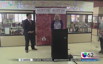 Distrito Escolar de Austin inaugura programas especializados en dislexia