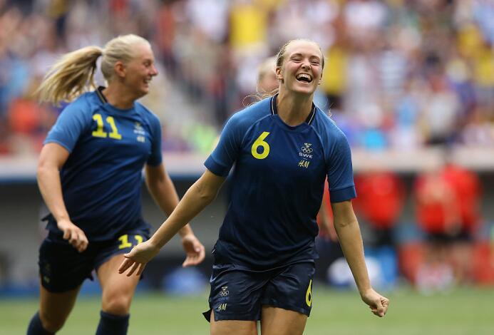 Suecia derrotó 4-3 en serie de tiros penales a Estados Unidos tras empat...