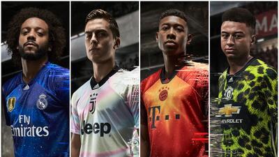 Madrid, Juventus, Bayern y United estrenan extravagantes playeras exclusivas del FIFA19