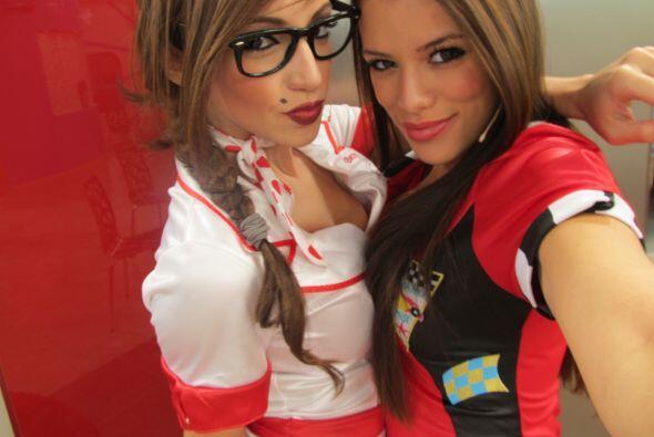Las chicas sexy de Protagonistas.