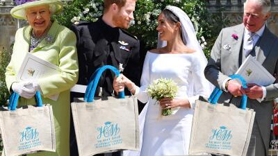 Goody bag de la boda de Meghan y Harry se vende por más de lo que pagas de renta en un año
