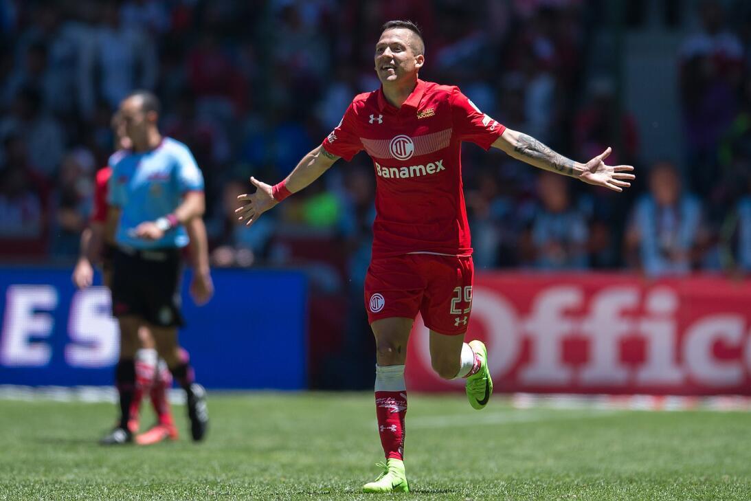 El Diablo es más líder que nunca Rodrigo Salinas Toluca celebra primer g...