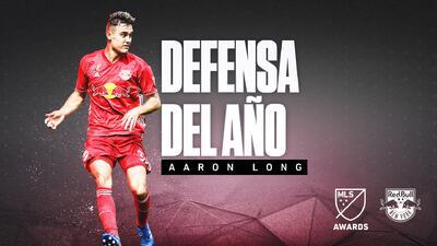 Aaron Long, de New York Red Bulls y la selección de EEUU, es el Defensa del Año 2018 en MLS