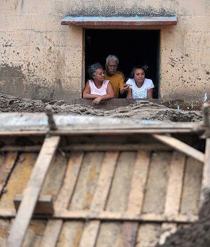 El daño del Pacaya. Las cenizas del Pacaya no causadon tanto da&n...