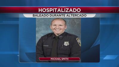 Oficial recibe disparo en el rostro en el condado de Henry