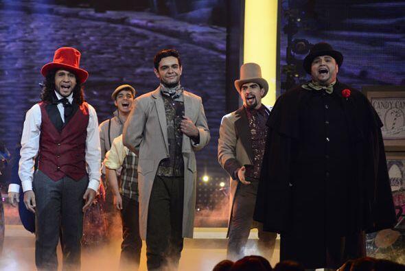 Frank, Espiridión, Enrique y Ricardo.