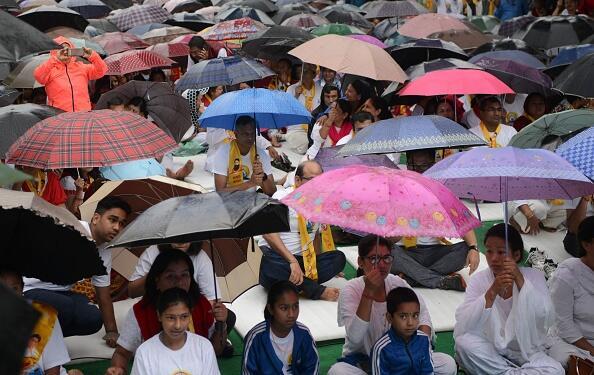 La lluvia no fue impedimento para que se celebrara el Día Internacional...