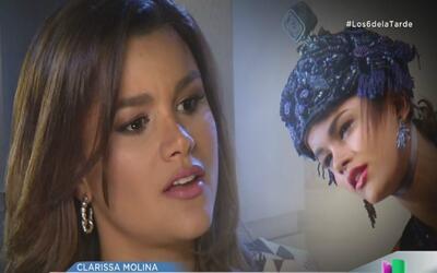 Clarissa Molina dudó en regresar a Nuestra Belleza Latina