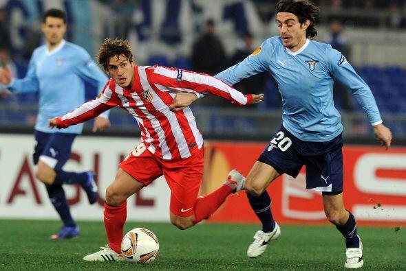 Gran duelo el que dieron la Lazio de Italia ante el atlético de Madrid e...