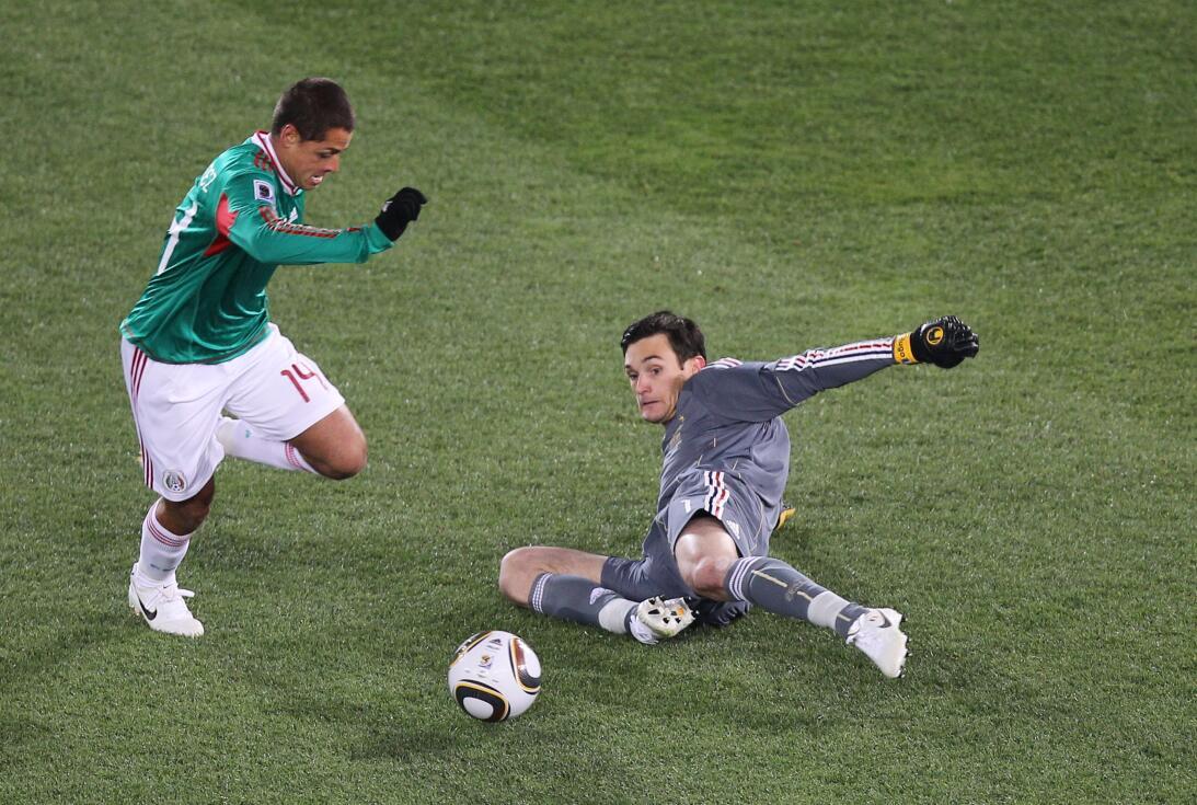 'Chicharito' Hernández el máximo goleador del 'Tri' GettyImages-10262703...
