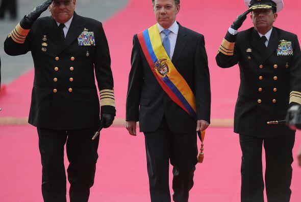 Pese a que Santos capitalizó en las urnas el legado de Uribe, del que fu...