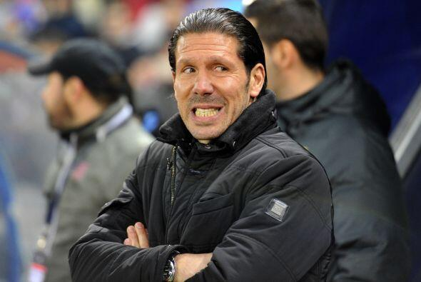 Simeone nunca pudo encontrar la forma de hacer reaccionar a su equipo pu...