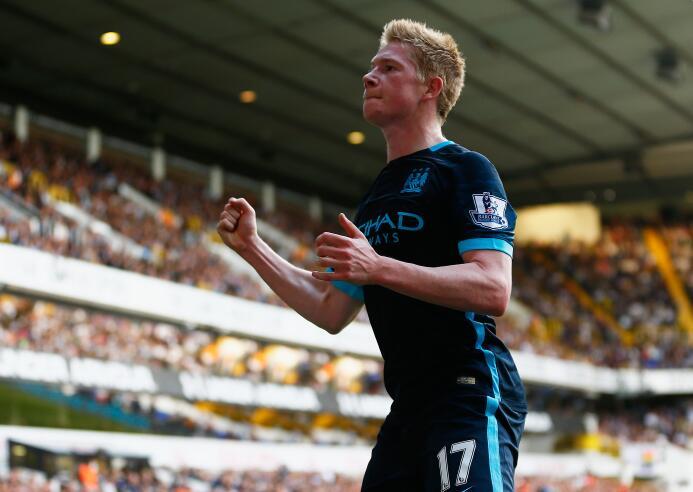 Fichaje récord en ese momento para el Manchester City. Kevin De Bruyne l...