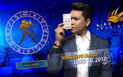 Niño Prodigio - Acuario 16 de junio 2017