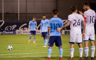 David Villa NYCFC pretemporada 2018 vs. Montreal Impact