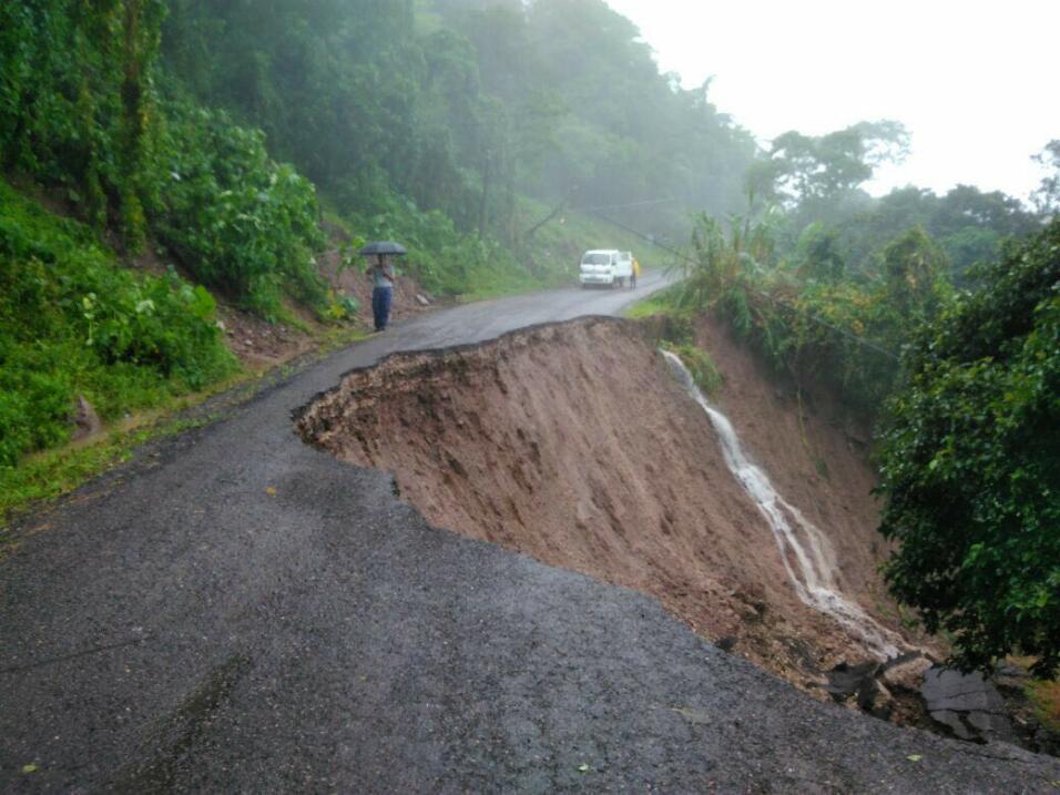 Última previsión: Mapa de la trayectoria de la tormenta tropical Nate tj...