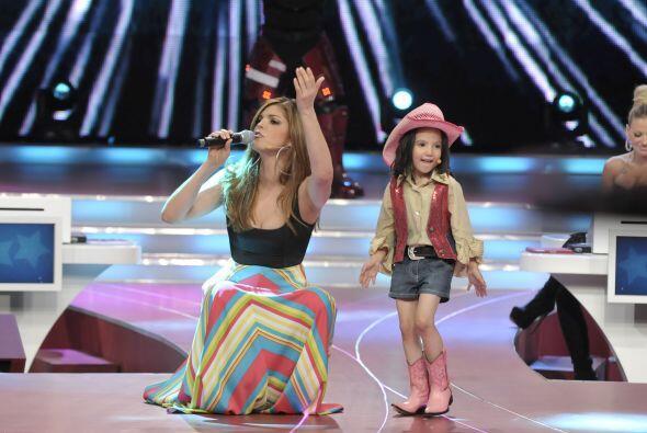 Hasta Ana Bárbara, cuando participó como juez en el programa, pisó el es...