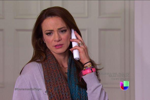 Desafortunadamente, Ana no tiene idea dónde pueda estar Isabela.