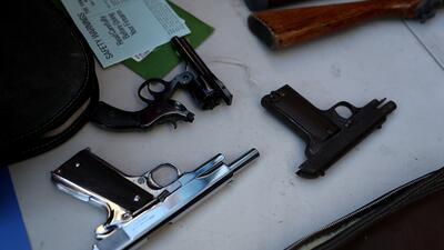 La Policía de San Francisco recolecta decenas de armas en el área de South of Market