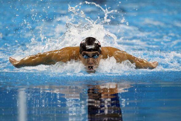 Phelps no tuvo esta vez como rivales a Milorad Cavic ni Ryan Lochte y ga...