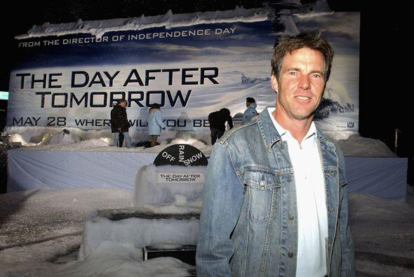 La cinta de 2oth Century Fox, The Day After Tomorrow con Dennis Quaid, t...