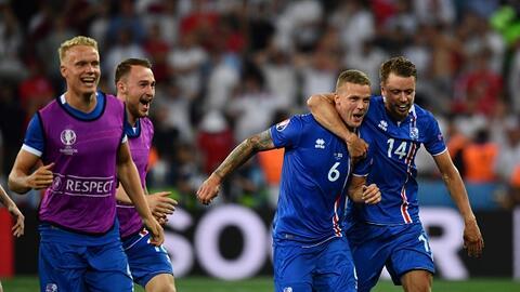 Islandia, la 'cenicienta' de la Euro, será sinodal del Tri de ca...