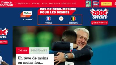 Así reaccionó la prensa en el Mundo tras la victoria de Francia por 1-0 sobre Bélgica