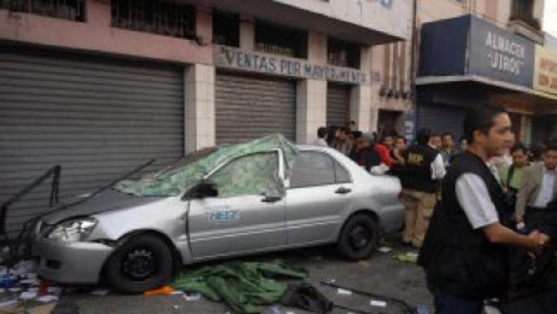 Dieciocho periodistas han sido asesinados en Guatemala en los últimos si...