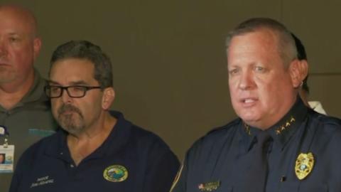 Jeffrey O'Dell, jefe de la policía de Kissimmee, en Florida, explicó...