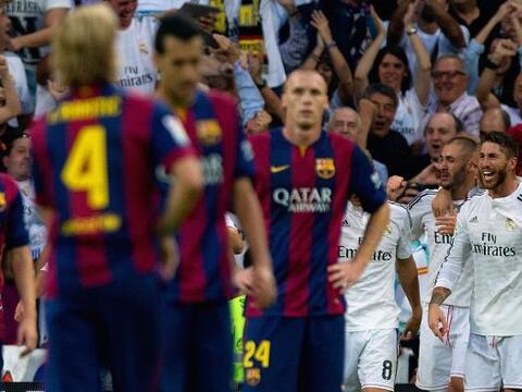 El Real Madrid derrotó 3-1 al Barcelona en el Santiago Bernab&eac...
