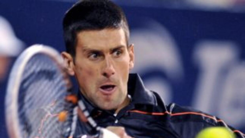El número dos de la clasificación ATP rompió hasta en cinco ocasiones el...