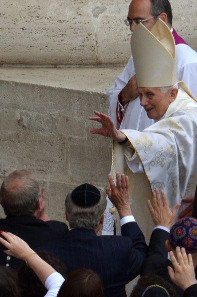 El papa emérito, Benedicto XVI.