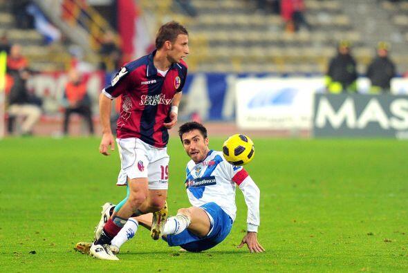 Finalmente, el Bolonia recibió al Brescia.