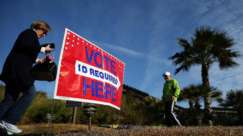 Votantes en Carolina del Sur