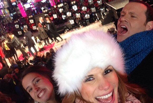 """""""Celebrando en familia este 2015"""", mostró Alan. (Enero 1, 2015)"""
