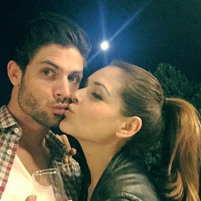 Los actores de telenovela disfrutaron de la Noche Buena en compañía de s...