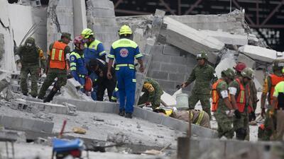 Localizan cuerpo de última víctima del derrumbe de centro comercial en construcción en México