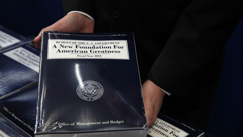 El presupuesto de Donald Trump para el año 2018.