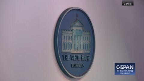 "Así se ""vio"" la rueda de prensa de la Casa Blanca del m..."