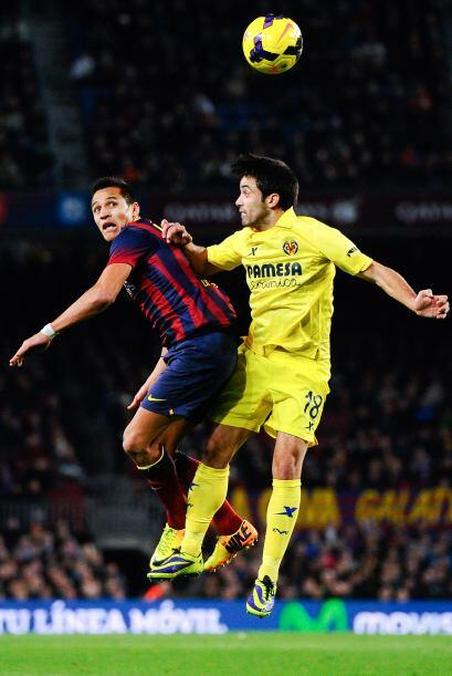 Incluso en los últimos minutos el Villarreal demostró que...