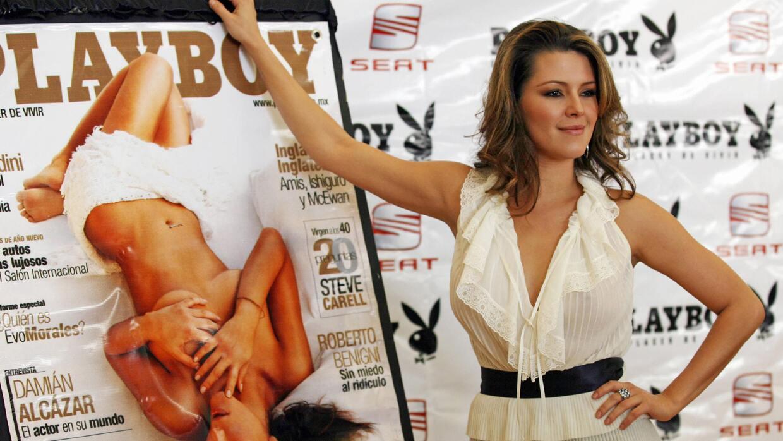 Alicia Machado fue la primera latina en la portada de la edición estadou...