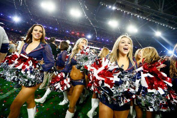 Las hermosas porristas de los New England Patriots celebraron el t&iacut...