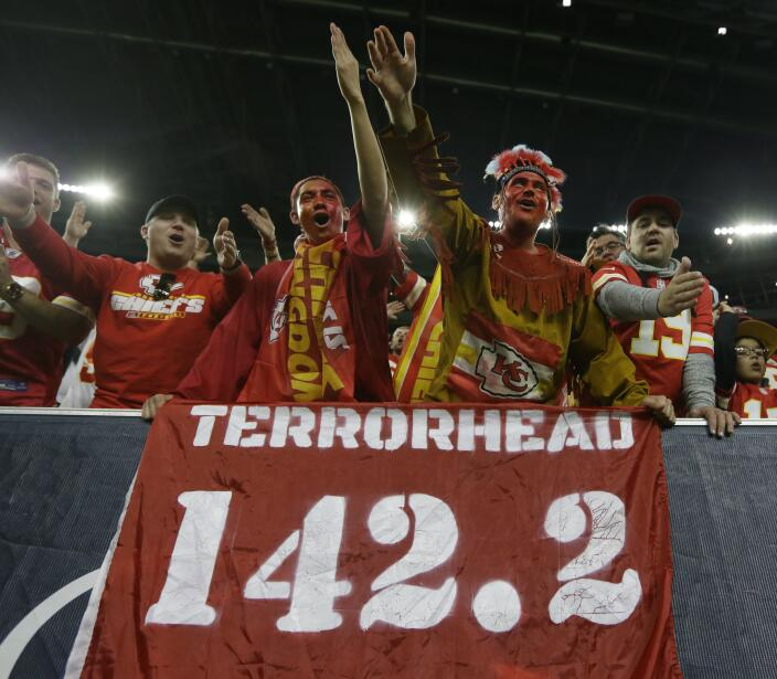 Así vivieron los fans de la NFL los juegos de comodines. ¡C...