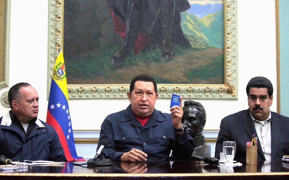 Hugo Chávez diciembre 2012 deja a Maduro