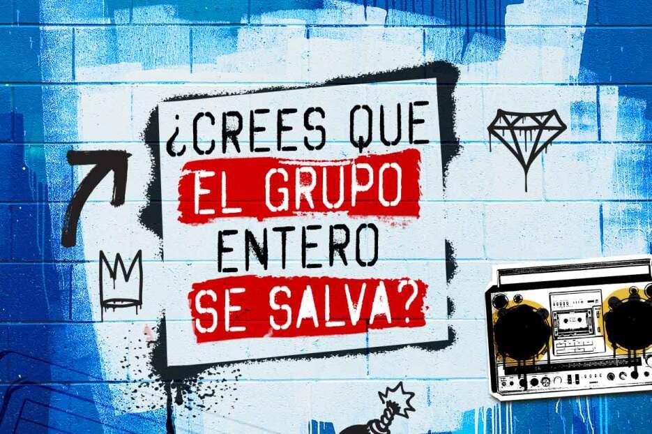 Graffiti time! La Banda has it's own art   La Banda  96-Poll-Crees-que-e...
