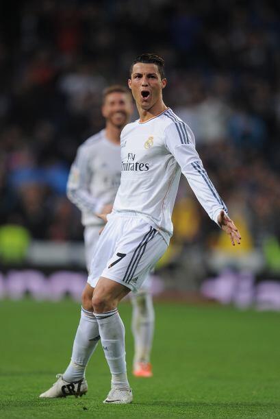 Y el primer lugar es para Cristiano Ronaldo, el mejor futbolista del 201...